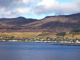 Lochcarron from the south side of the loch